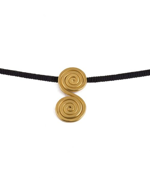 Speira Necklace Gold Plated Silver