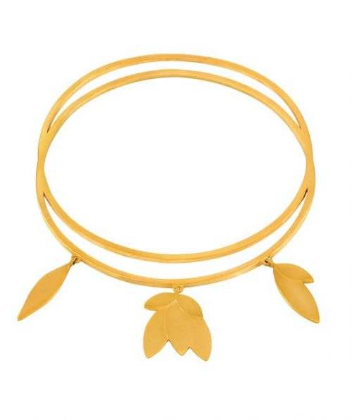 Allegra 925 Gold Plated Bracelet