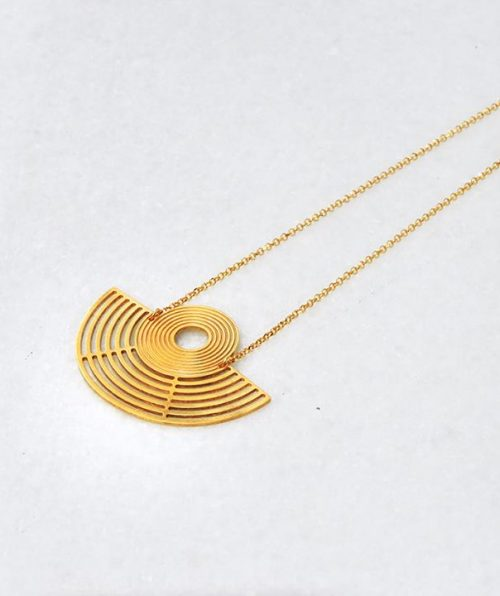 Gold Necklace from the Amphitheater Collection