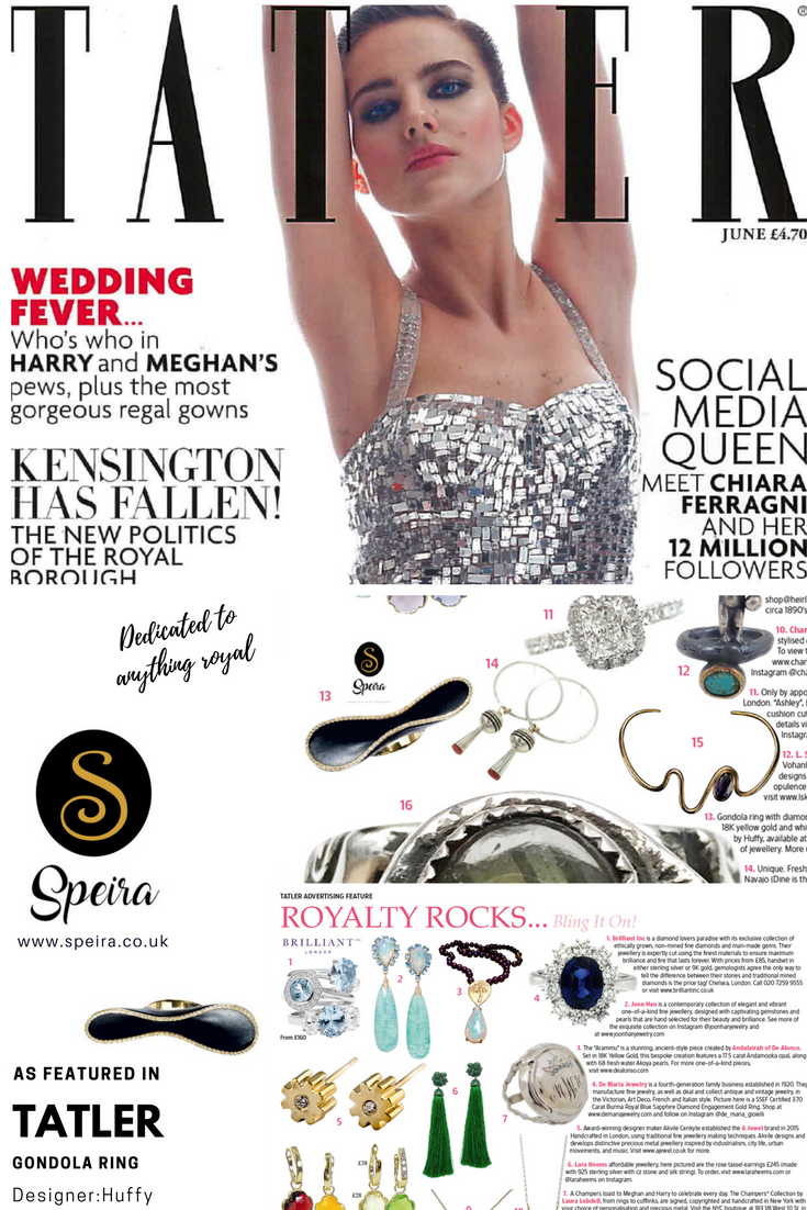 Tatler Featured Speira Jewellery Gondola ring http://www.speira.co.uk/product/gondola-ring-diamonds/